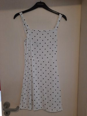 H&M Shortsleeve Dress white-black