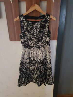 Charles Vögele Shortsleeve Dress white-black