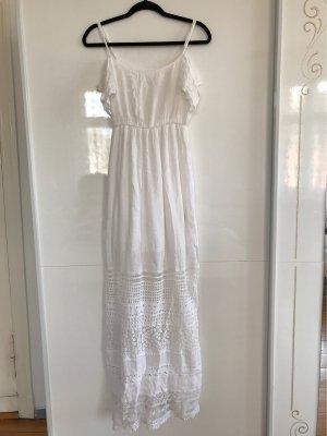 Bershka Empire Dress white