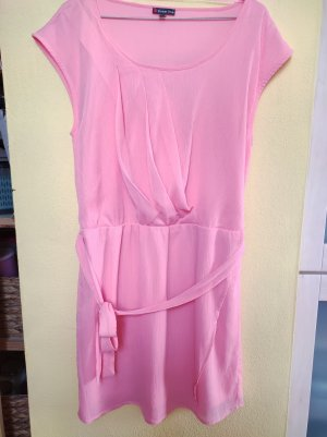 Street One Summer Dress pink polyester
