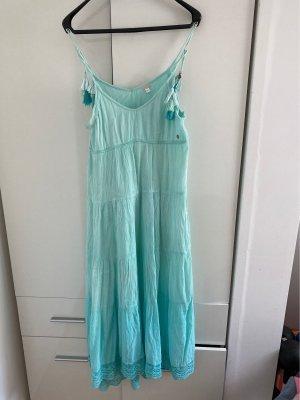 Khujo Sukienka boho turkusowy