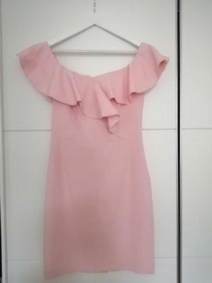 Reserved Chiffon Dress pink-light pink