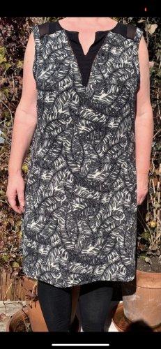 C&A Vestido de Verano negro-blanco