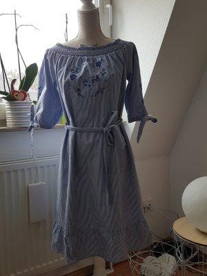 s.Oliver One Shoulder Dress light blue