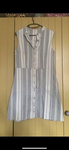 Nile Robe t-shirt blanc cassé-bleu foncé