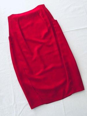 Calvin Klein Sukienka z rękawem balonowym czerwony-ciemnoczerwony