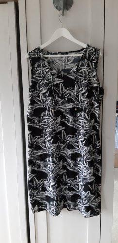 Laura Torelli Sukienka plażowa biały-czarny