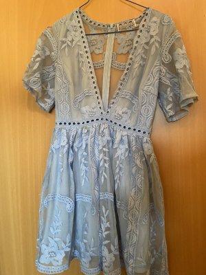 Asos Sukienka typu babydoll błękitny