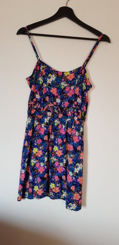 H&M Divided Cut Out Dress multicolored viscose