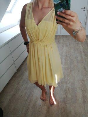 Villa Letnia sukienka jasnożółty-żółty