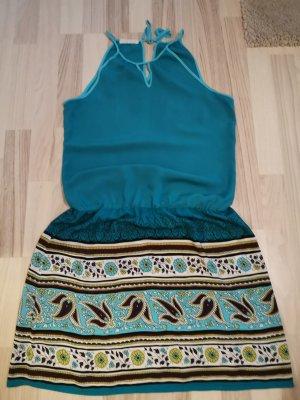 Promod Vestido tipo overol multicolor