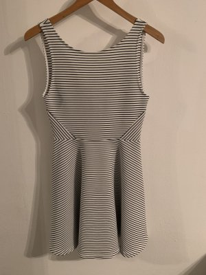 H&M Vestido playero blanco-negro