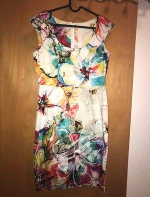 Cassani Sheath Dress multicolored cotton