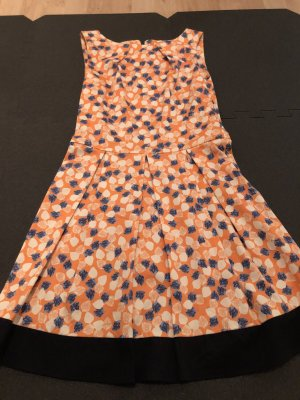 Closet A Line Dress orange-blue