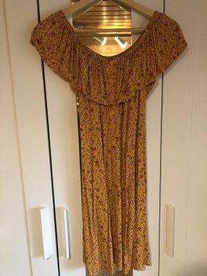 C&A Clockhouse Robe d'été orange clair-orange doré