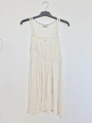 Element Vestido línea A blanco puro-crema