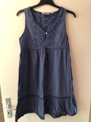 H&M L.O.G.G. Babydoll-jurk veelkleurig Gemengd weefsel