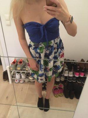 Vestido playero azul