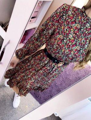 Abendkleid Letnia sukienka magenta-miętowy