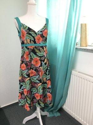 Allude Midi Dress multicolored viscose