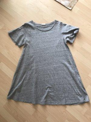 American Vintage Abito linea A grigio chiaro Cotone