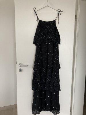 Anine Bing Robe d'été noir viscose
