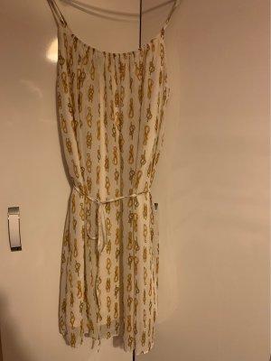 Apart Sukienka koktajlowa kremowy-złotopomarańczowy