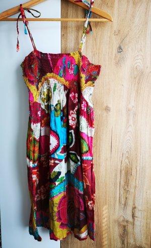 Sommerkleid aus Baumwolle bunt - neu