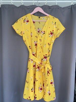 H&M Divided Kopertowa sukienka Wielokolorowy