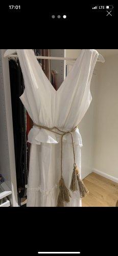 Wollen jurk wit