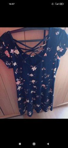 Sukienka dresowa ciemnoniebieski