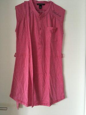 Billabong Beach Dress neon pink mixture fibre
