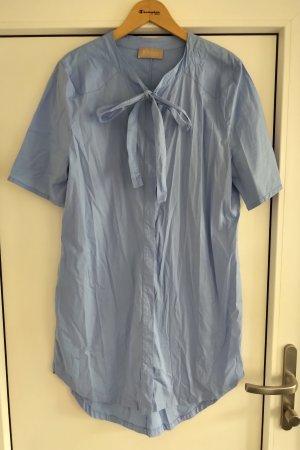 81hours Robe à manches longues bleu clair