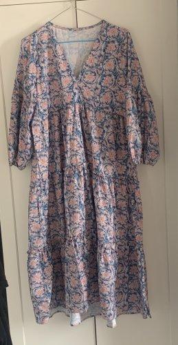 Sommerkleid blau/Rosa