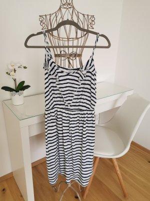 Sommerkleid blau weiß gestreift
