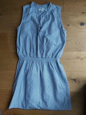 Sommerkleid blau/weiss gestreift - H&M