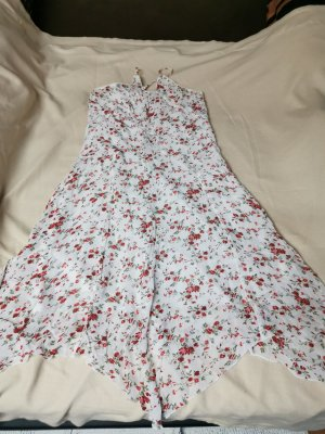 unbekannte Halter Dress white-red