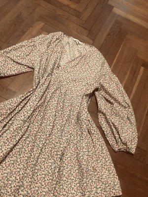 Sommerkleid Blümchenmuster Baumwolle Print Zara H&M Gr. L — neu! Versandkostenfrei!