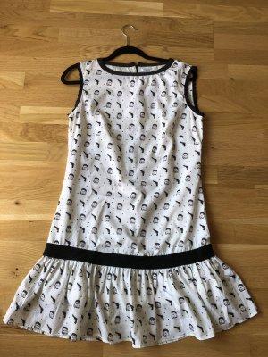 Brigitte Bardot Mini-jurk veelkleurig
