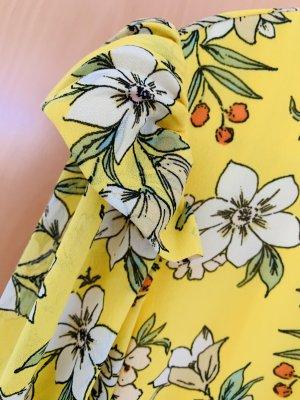 Sommerkleid bunt Gelb neu Gr . M