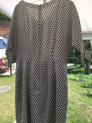 Cinque Letnia sukienka czarny-biały