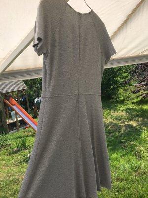Cinque Vestido de Verano gris claro-blanco puro