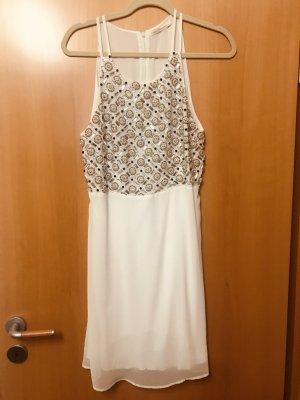 Sommerkleid /Coacktailkleid von Gaudi mit Perlen und Strasssteinen