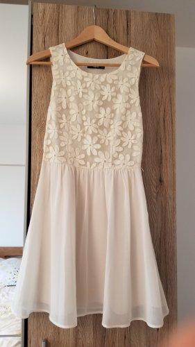 Sommerkleid Cocktailkleid mit Plisseerock Oasis Blumenstickerei