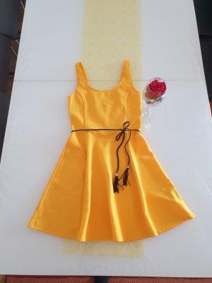 Sommerkleid,  Cocktailkleid,  Strandkleid gelb