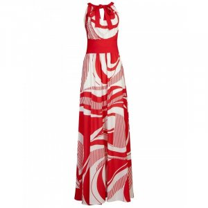 BSB Collection Cocktail Dress red-white
