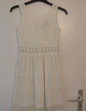 Zalando Lace Dress white