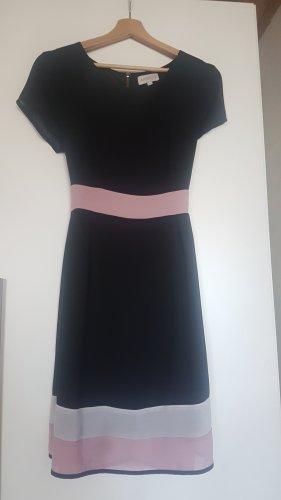 Apricot A Line Dress rose-gold-coloured-dark blue