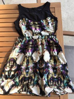 Amisu Cut Out Dress multicolored