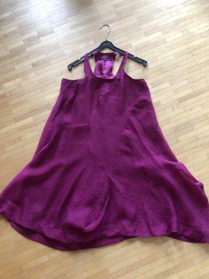 Mado et les Autres Sukienka z wycięciem fioletowy Lyocell